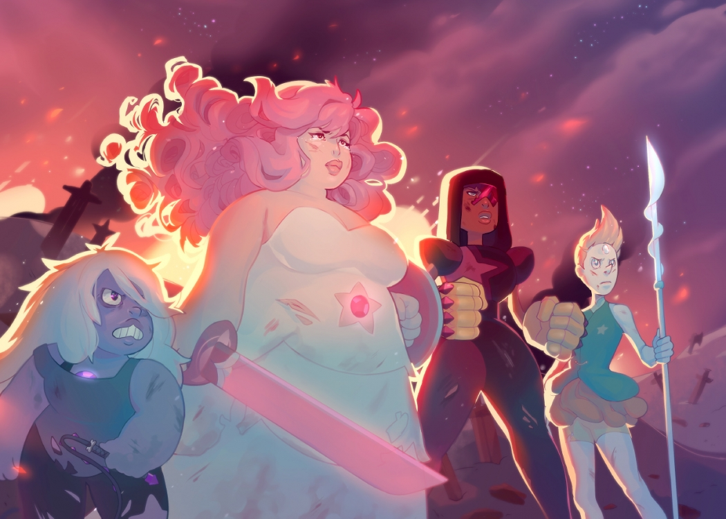 Steven Universe illustration by asieybarbie